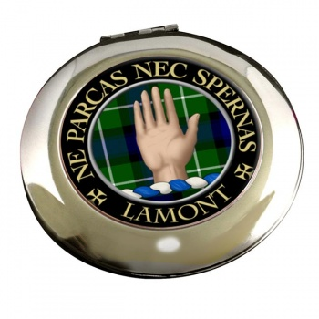 Lamont Scottish Clan Chrome Mirror