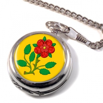 Lancashire Rose Pocket Watch