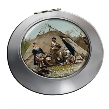 A Lapp Family Chrome Mirror