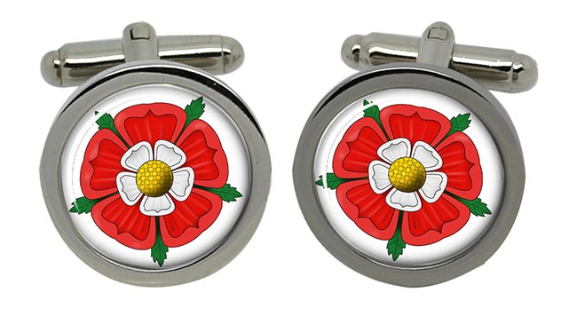 Tudor Rose Round Cufflinks