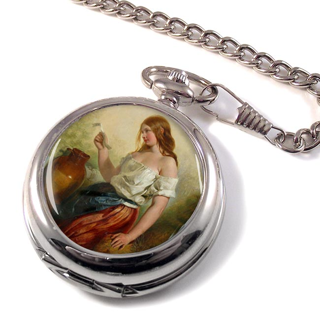 The Love Letter by Selous Pocket Watch