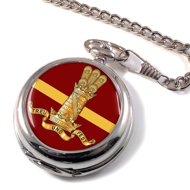 11th Hussars (Prince Alberts Own) (British Army) Pocket Watch