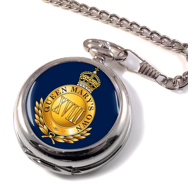 18th Royal Hussars (Queen Mary's Own) British Army Pocket Watch