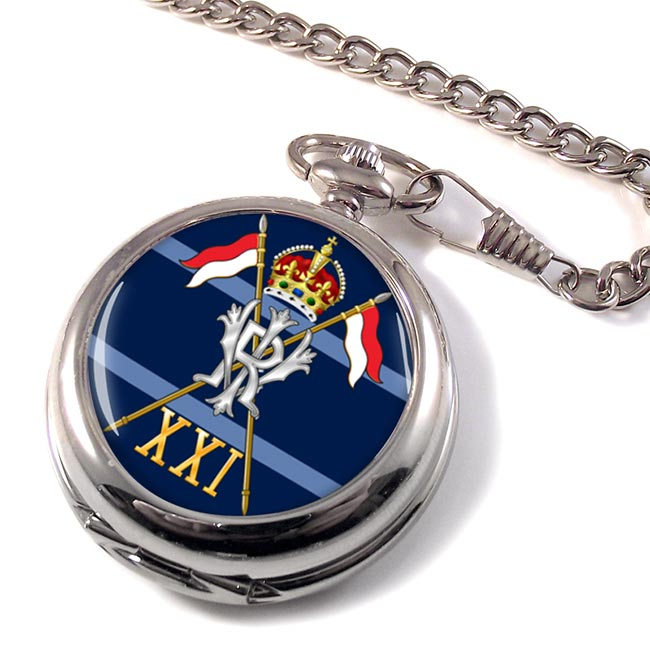 21st Lancers British Army (Empress of India's) Pocket Watch