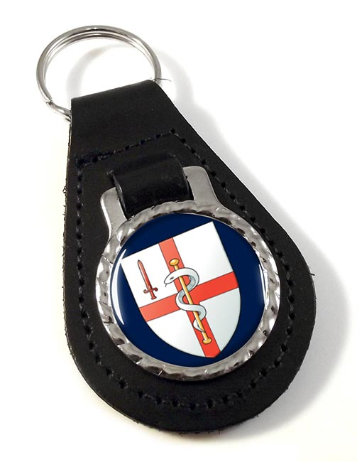 256 Field Hussars (British Army) Leather Key Fob