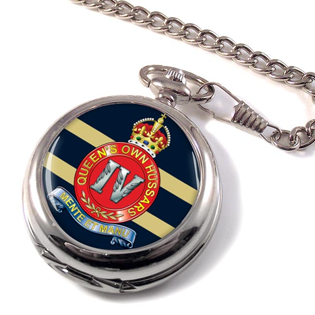4th Queen's Own Hussars (British Army) Pocket Watch