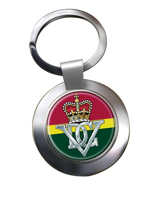 5th Royal Inniskilling Dragoon Guards (British Army) Chrome Key Ring