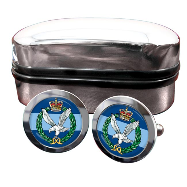 Army Air Corps Round Cufflinks