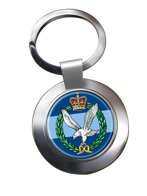 Army Air Corps (British Army) Chrome Key Ring