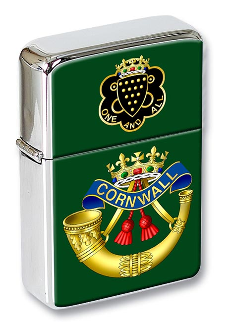 Duke of Cornwall's Light Infantry (British Army) Flip Top Lighter