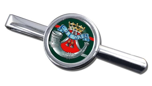 Duke of Cornwall's Light Infantry (British Army) Round Tie Clip