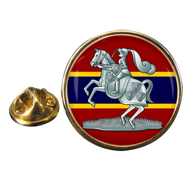 Fife & Forfar Yeomanry (British Army) Round Pin Badge