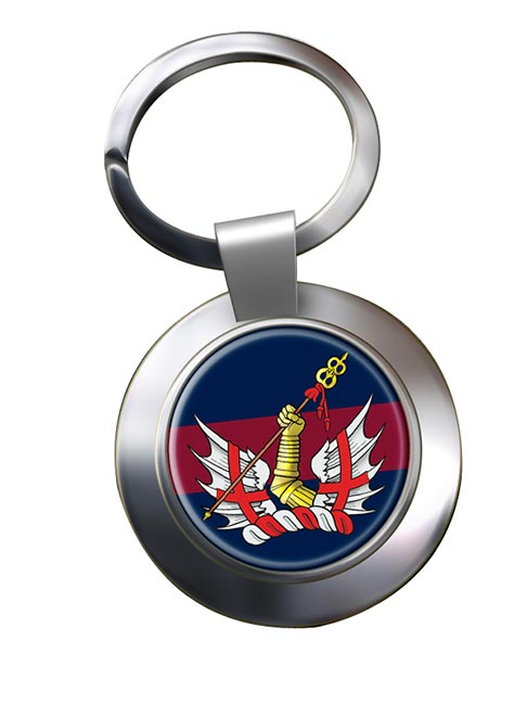 Honourable Artillery Company (British Army) Chrome Key Ring