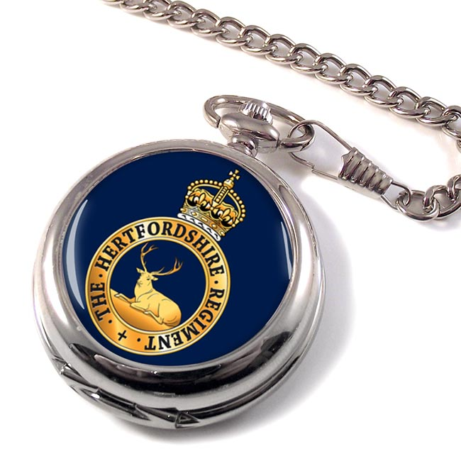 Hertfordshire Regiment (British Army) Pocket Watch