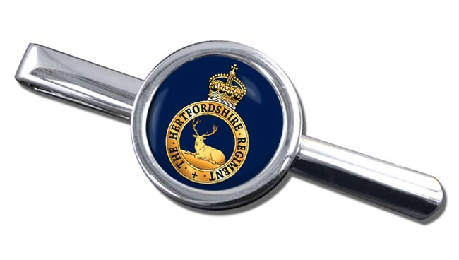 Hertfordshire Regiment (British Army) Round Tie Clip