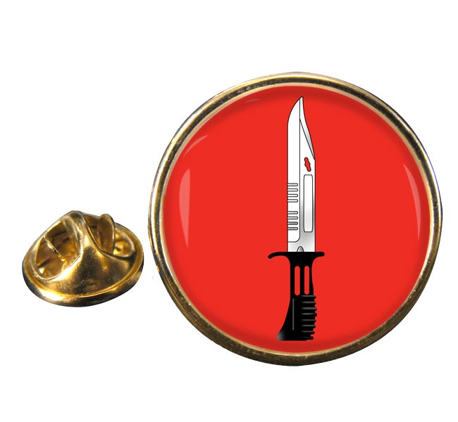 Infantry Corps (British Army) Round Pin Badge