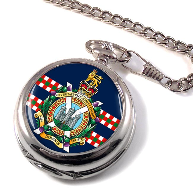 King's Own Scottish Borderers (British Army) Pocket Watch