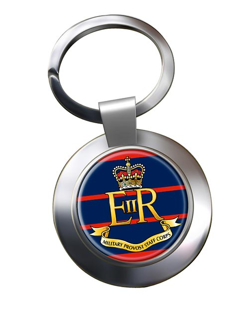 Military Provost Staff Corps (British Army)Chrome Key Ring