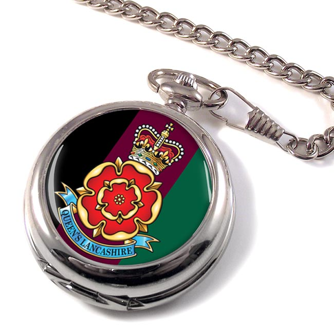 Queen's Lancashire Regiment (British Army) Pocket Watch