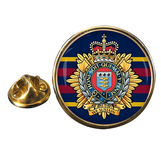Royal Logistics Corps (British Army)  Round Pin Badge