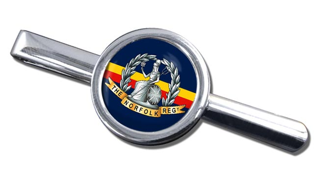Royal Norfolk Regiment (British Army) Round Tie Clip