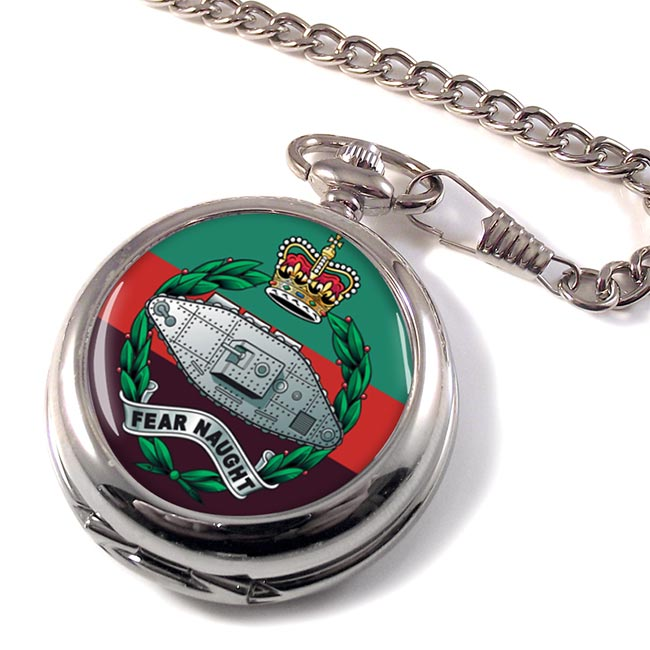 Royal Tank Regiment (British Army) Pocket Watch