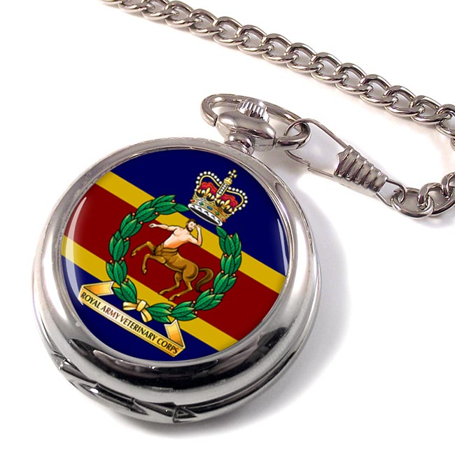 Royal Army Veterinary Corps (British Army) Pocket Watch