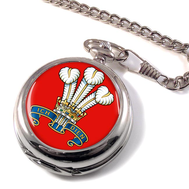 The Prince Of Wales's Division (POW) British Army Pocket Watch