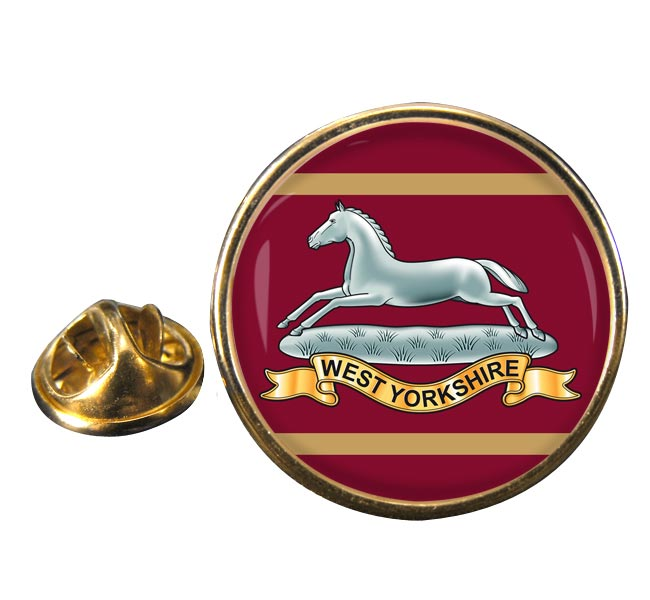 West Yorkshire Regiment Round Pin Badge