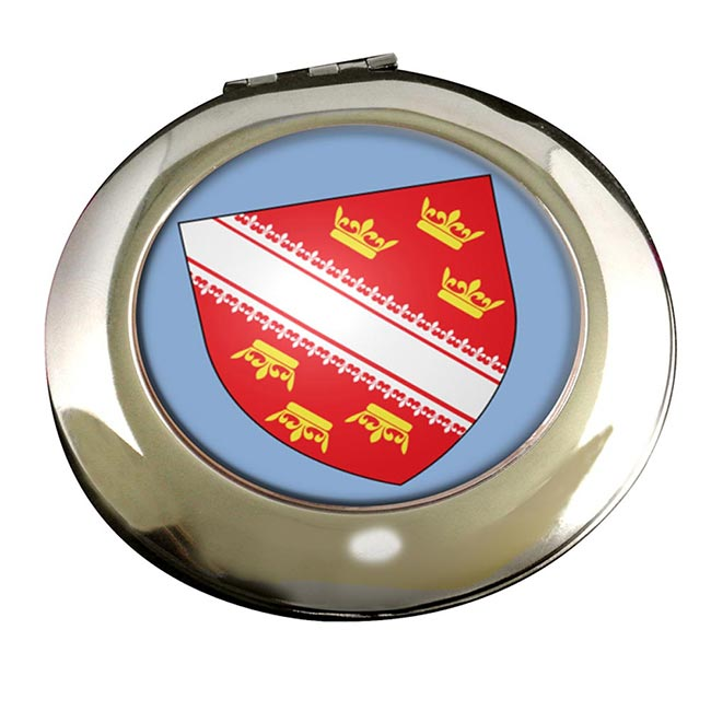 Alsace (France) Round Mirror
