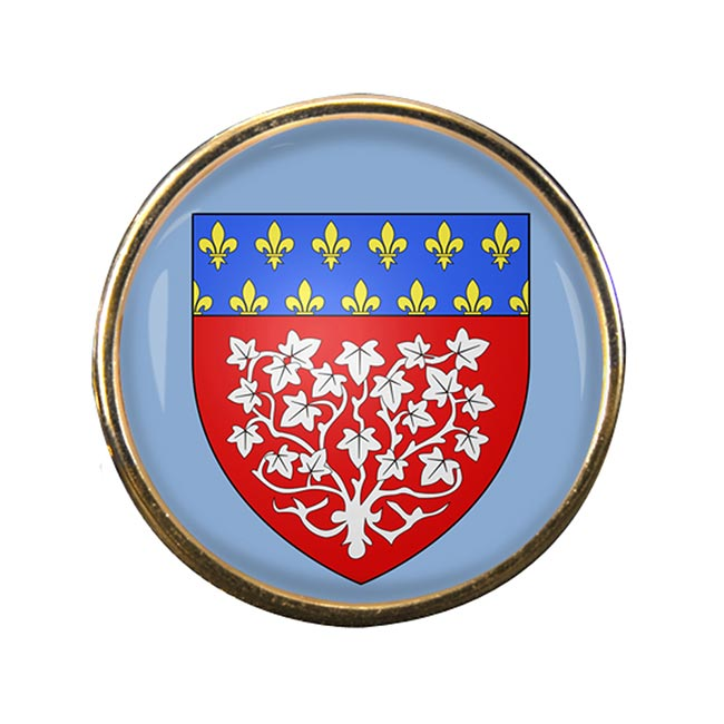 Amiens (France) Round Pin Badge