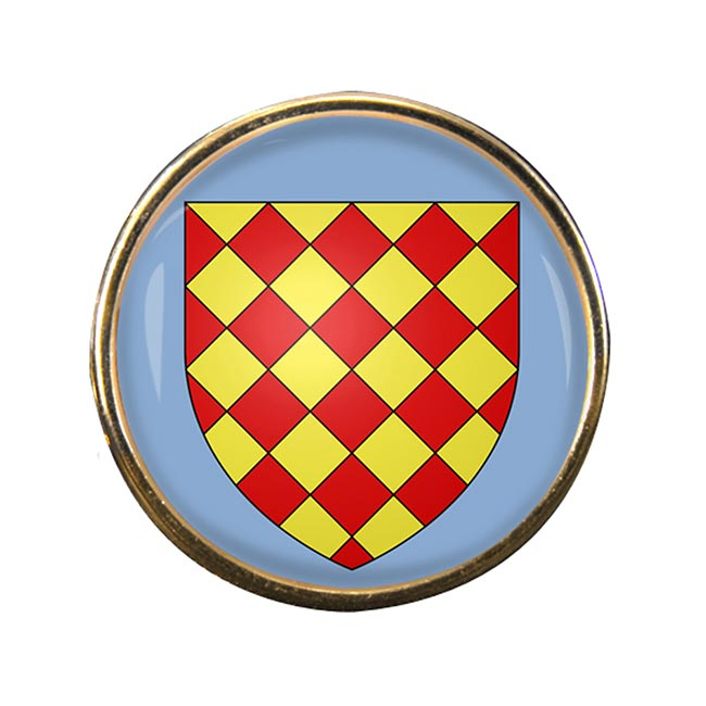 Angoumois France) Round Pin Badge