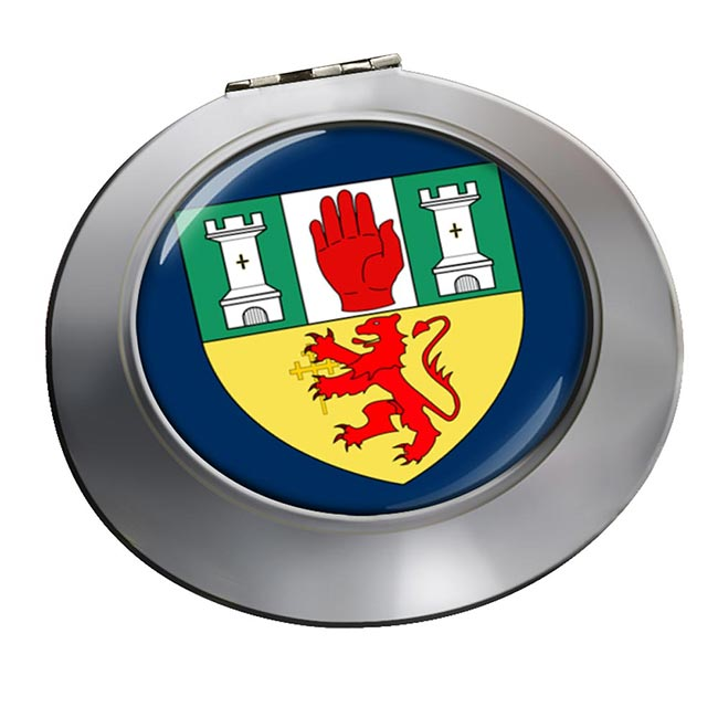 County Antrim (UK) Round Mirror