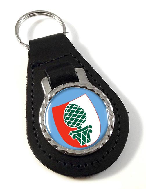 Augsburg (Germany) Leather Key Fob