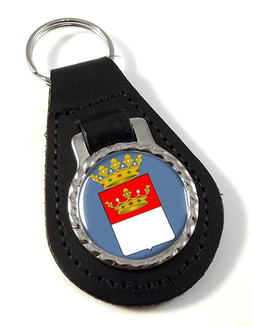 Avellino (Italy) Leather Key Fob
