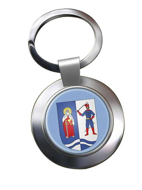 Bacs-Kiskun Metal Key Ring