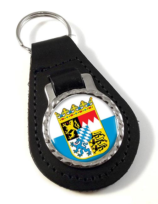 Bayern Bavaria (Germany) Leather Key Fob