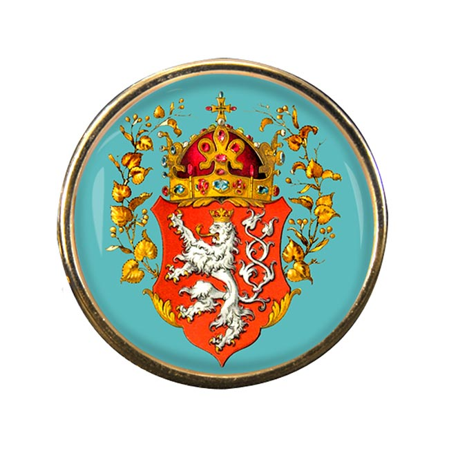Bohemia (Czech) Round Pin Badge