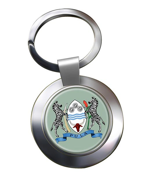 Botswana Metal Key Ring