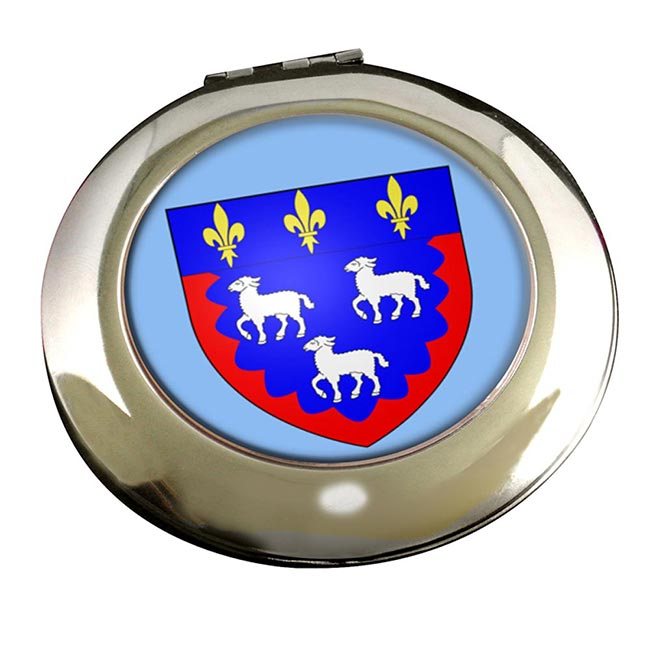 Bourges (France) Round Mirror