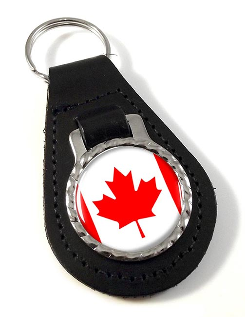 Canada Leather Key Fob