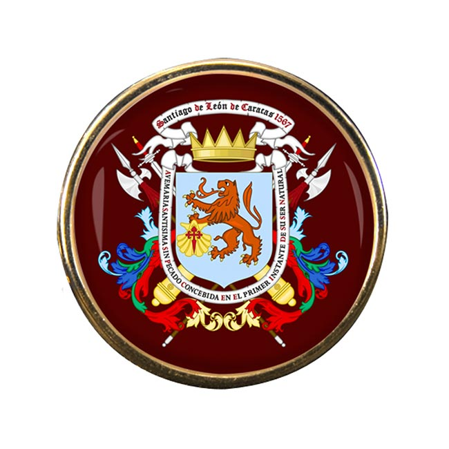 Caracas (Venezuela) Round Pin Badge