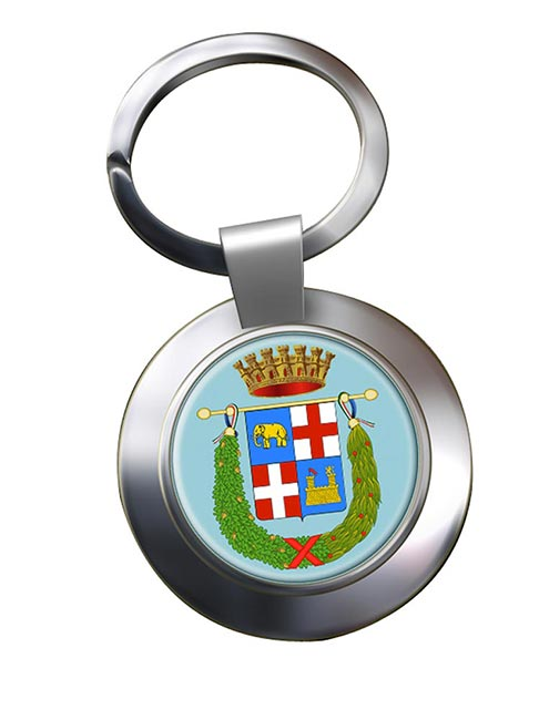 Provincia di Catania (Italy) Metal Key Ring