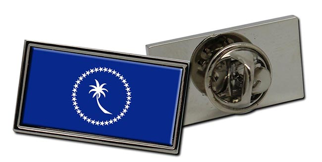Chuuk (Micronesia) Flag Pin Badge