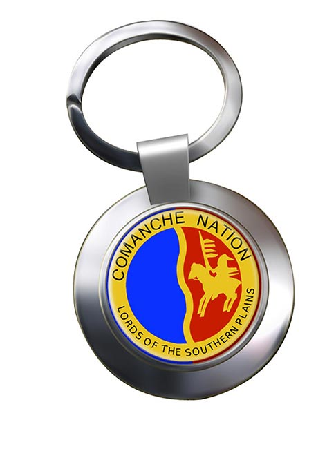 Comanche Nation (Tribe) Metal Key Ring