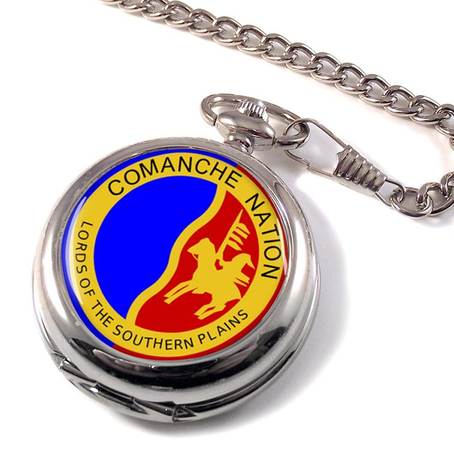 Comanche Nation (Tribe) Pocket Watch
