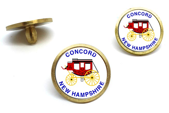 Concord NH  Golf Ball Marker