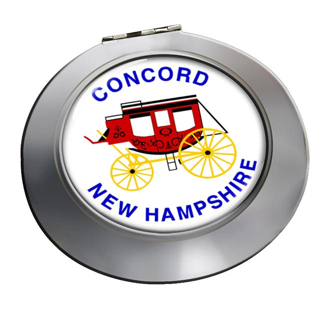 Concord NH  Round Mirror
