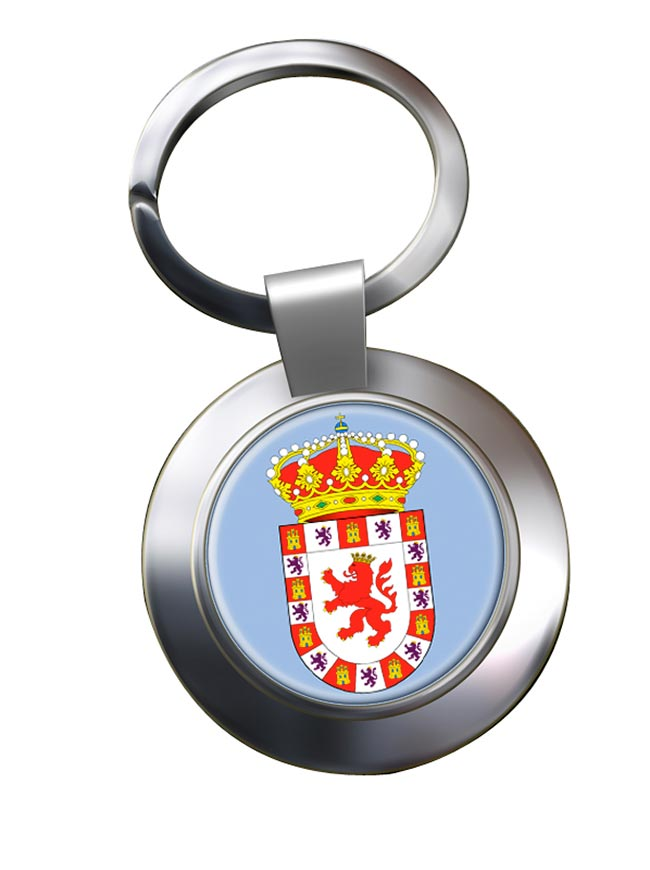 Cordoba Ciudad (Spain) Metal Key Ring