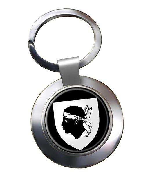 Corse Corsica (France) Metal Key Ring